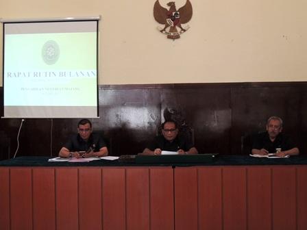 Rapat Pleno Bulan Juli2019