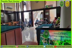 Sosialisasi Budaya Kerja, Benturan Kepentingan,SPIP, PPID