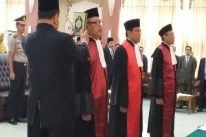 Pelantikan Ketua Pengadilan Negeri Lumajang oleh Ketua Pengadilan Tinggi Jawa Timur