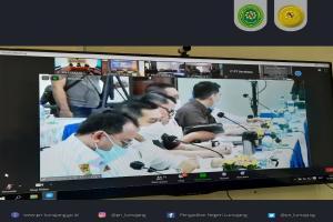 Kunjungan Anggota Komisi III DPR RI Pada PT Surabaya