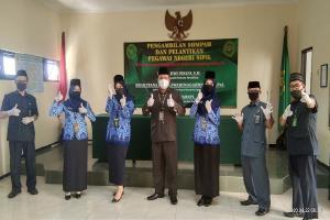 Pengambilan Sumpah dan Pelantikan Pegawai Negeri Sipil Pengadilan Negeri Lumajang