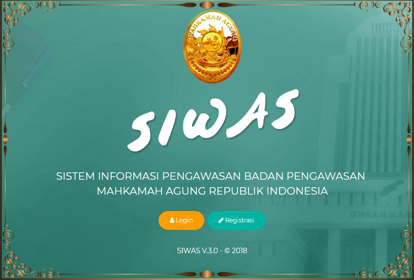 SIWAS - Sistem Informasi Pengawasan